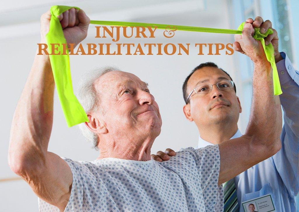 Injury and Rehabilitation Tips